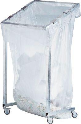 Großvolumen-Wertstoffsammler JUMBO, fahrbar, Fassungsvermögen 2500 Liter