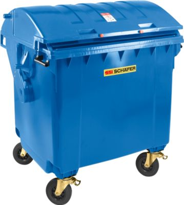 Grote container MGB 1100 RD, blauw