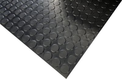 Gummibodenbelag COBAdot Nitrile, lfm x B 1200 mm, Materialstärke 4 mm