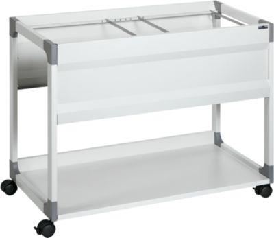 Hängemappenwagen System File Trolley 100 Multi, grau