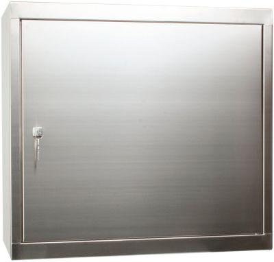 Hängeschrank, Edelstahl, 600 x 650 x 320 mm