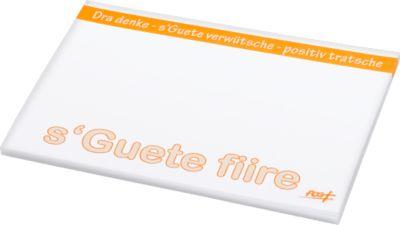 Haftnotizblock, L 100 x B 75 mm, weiß, 50 Blatt