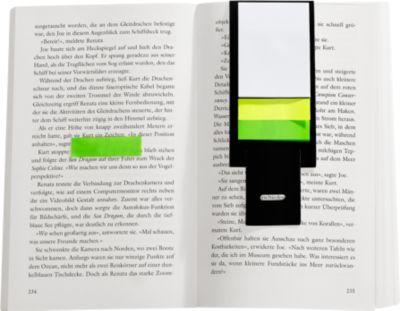 Haftnotizen Aufsteller, mit 80 Haftnotizblättern, Werbefläche 50 x 20 mm, schwarz