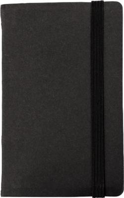 Haftnotizen International, Karton, schwarz
