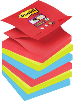Haftnotizen Super sticky Z-Notes, Bora Bora Collection