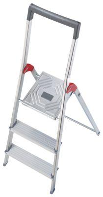 Hailo Alu-Sicherheitsleiter ProfiLine S150, 3 Stufen