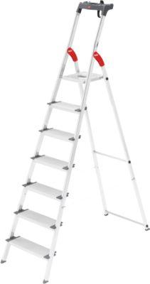 Hailo Alu-Sicherheitsleiter ProfiLine S150XXX, 7 Stufen