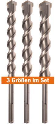 Hamerboor Projahn SDS-max ECO Set, in kunststof doos, 3 stuks, in 3 stuks.