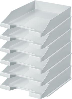 HAN Ablagekorb, DIN C4, Kunststoff, 6 Stück, lichtgrau