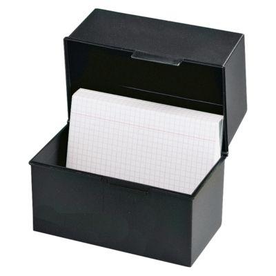 HAN kaartenbakken, A5 liggend, zwart