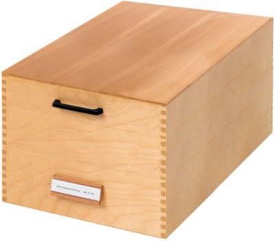 HAN Karteikasten, Holz, DIN A5, 1000-1500 Karten