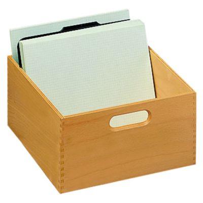 HAN Karteitrog, Holz, DIN  A5, 1000-1500 Karten