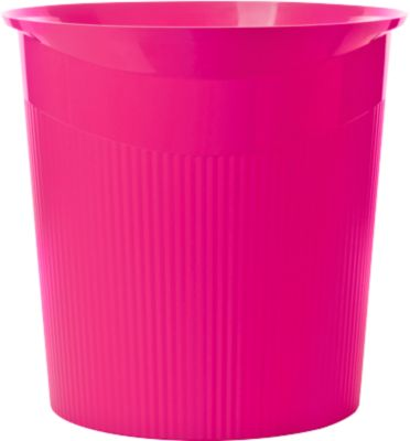 HAN Papierkorb Loop, 13 Liter, modernes Design in Trend Colour, pink