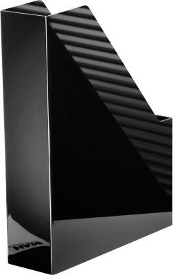 HAN Stehsammler i-Line, Breite 76 mm, Kunststoff, schwarz
