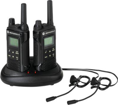 Handfunkgerät PMR Motorola XT180 Duo Pack, Reichweite 8 km, spritzwassergeschützt