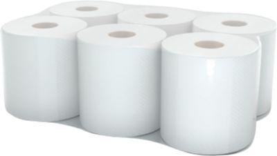 Handtuchpapier-Rolle, 1-lagig, 260 m, weiß