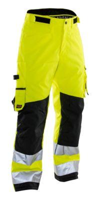 handwerkbroek winter geel/zwart C62