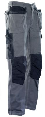 Handwerker Hose grau/schwarz C146