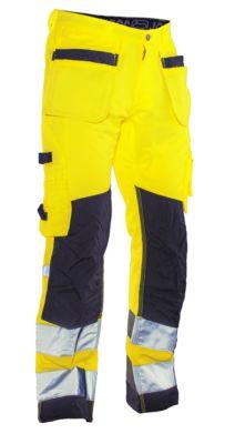 Handwerkerhose HiVis gelb/schwarz C146