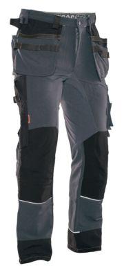 Handwerkerhose Stretch grau/schwarz C146