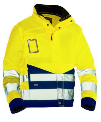 Handwerksjacke HiVis gelb/marine 3XL