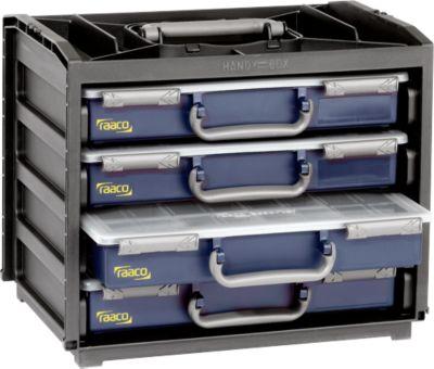 HandyBox met 4 assortimentsbakjes
