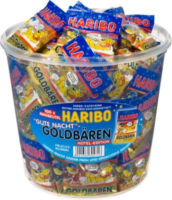 Haribo Gute Nacht Goldbären, 100 Beutel