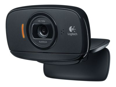 HD Webcam Logitech® C525, 1280 x 720 Pixel, Autofokus, 360°-Rotation, Universalhalterung, schwarz
