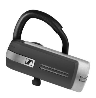 Headset Sennheiser Presence Grey UC, Bluetooth/USB, monaural, Ohrbügel + 4 Ohradapter, USB-Kabel & Transportbox