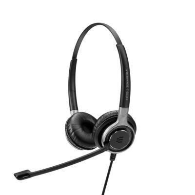 Headset Sennheiser SC 660 ANC USB, kabelgebunden, binaural, zertifiziert für Skype for Business