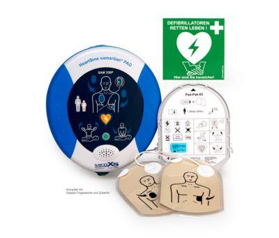 HeartSine Defibrillator SAM 350P, AED, 8 Jahre Garantie