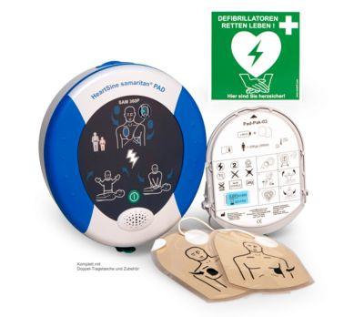 HeartSine Defibrillator SAM 360P, AED, 8 Jahre Garantie