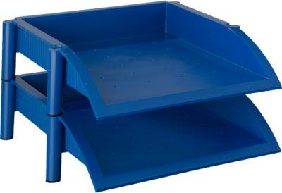 helit Ablagekorb Linear, blau