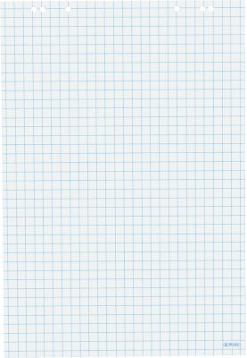 Herlitz Flipchartblock, kariert, 20 Blatt, 5 Stück