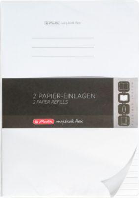 Herlitz Nachfüll-Papier Refill my.book, DIN A4, liniert