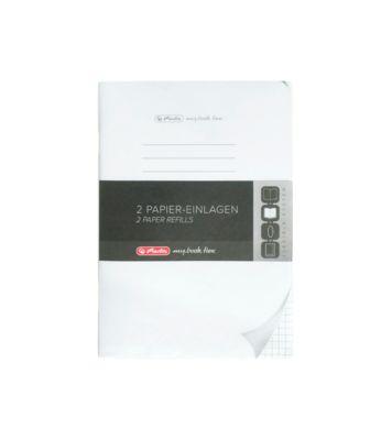 Herlitz Nachfüll-Papier Refill my.book, DIN A5, kariert