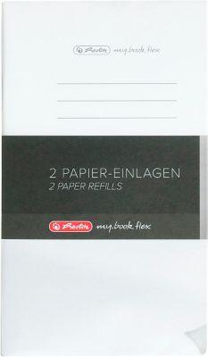 Herlitz Nachfüll-Papier Refill my.book, DIN A5, liniert