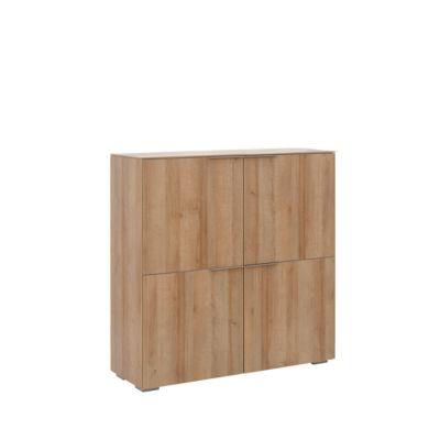 Highboard Amy, 4 Türen mit je 1 Fachboden, abschließbar, B 1126 x 1140 mm
