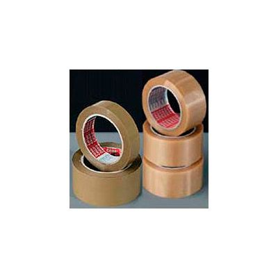 Packband PVC 100, 66 m x 25 mm, braun, 12er-Pack