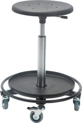 Hocker Sigma, Stahlbasis 480mm, 540-800 mm