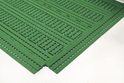 hoek, 112x112mm, groen