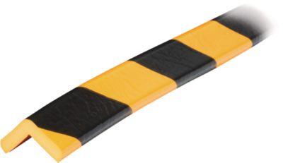 Hoekbesch.profielenType E geel/zwart 1m