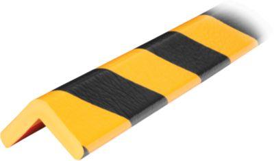 Hoekbesch.profielenType H geel/zwart 1 m