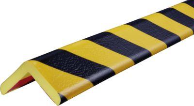 Hoekbesch.profielenType H+ geel/zwart 1m
