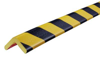 Hoekbesch.profielenType H geel/zwart 5 m