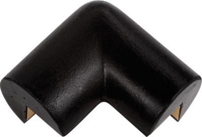 Hoekbeschermer 2 beens zwart