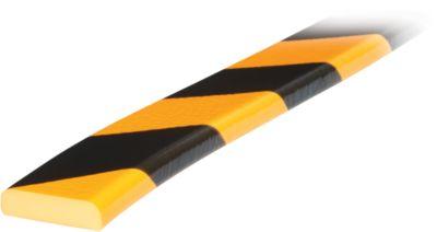 hoekbeschermprofiel type F geel/zwart