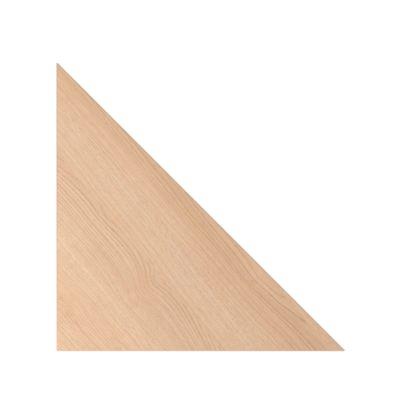 Hoekblad Ulm, b 800 x d 800 mm, eikendecor