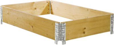Holzaufsatzrahmen, diagonal faltbar,  800 x 1200 x 200 mm