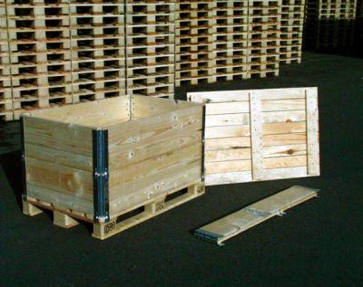 Holzaufsatzrahmen, diagonal faltbar, 800 x 1200 x 400 mm